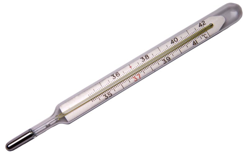 Medical thermometer isolated, health, medicine