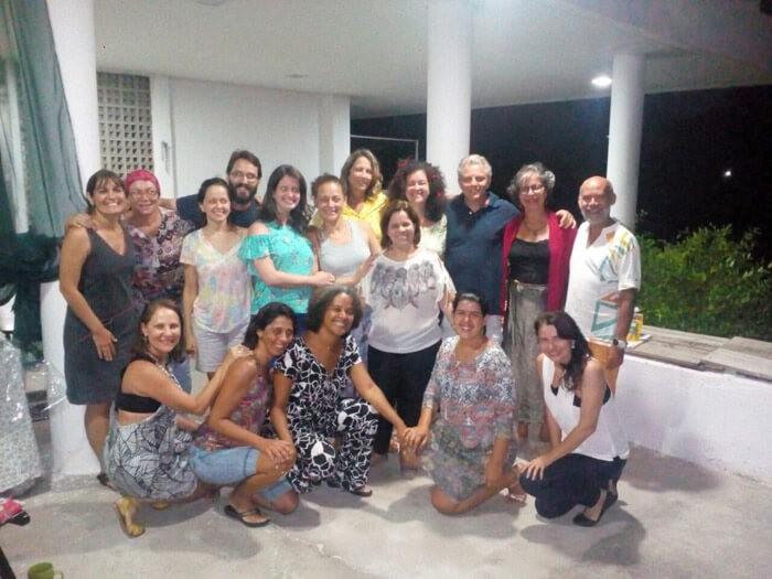 Turma do Curso Básico da Regional ABMA-PE com Dr. Ricardo Ghelman